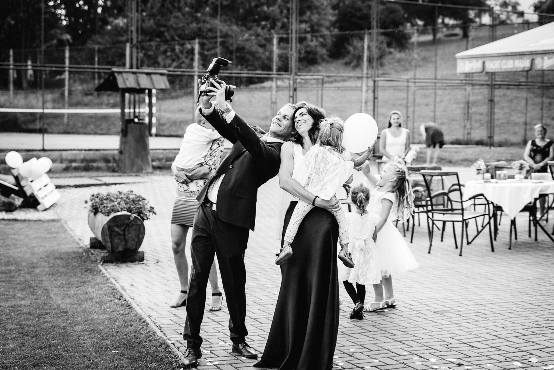 rodinné selfie