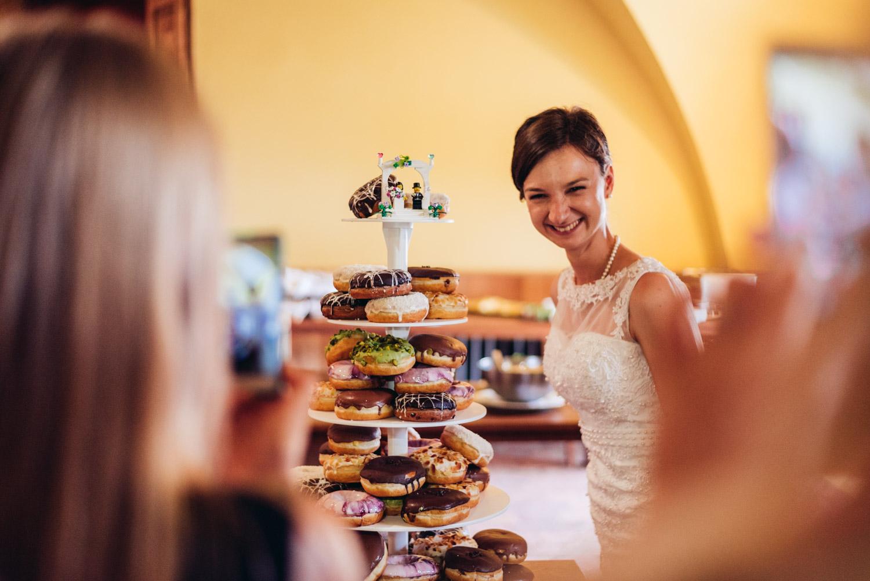 svadobné doughnuts