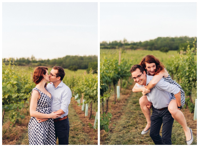 šantenie vo vinohrade