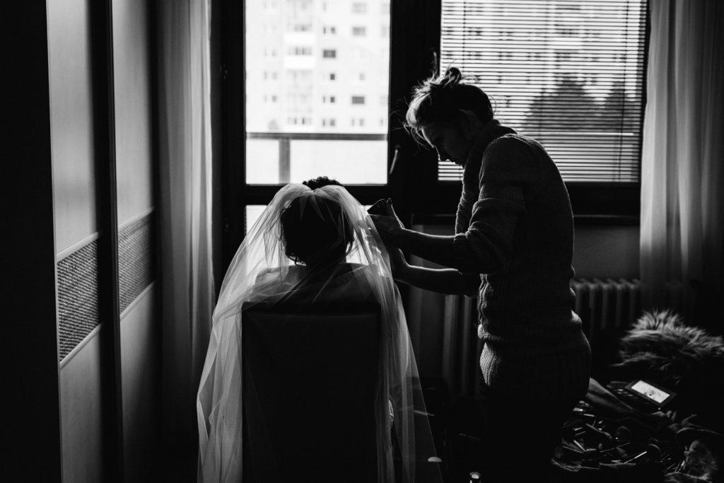 prípravy nevesty