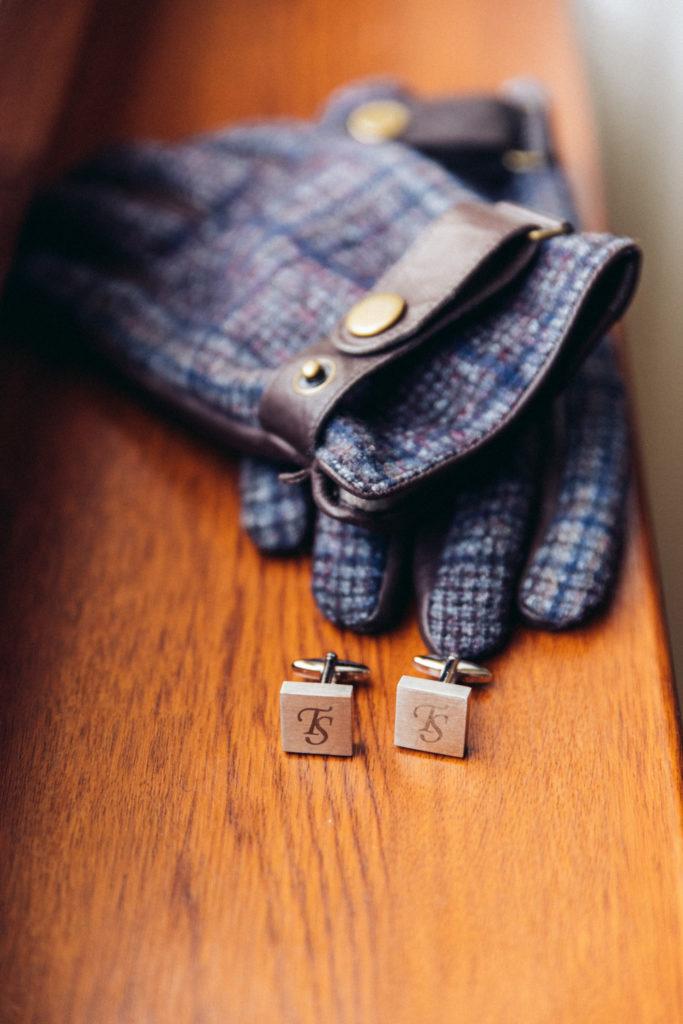 ženíchove rukavice