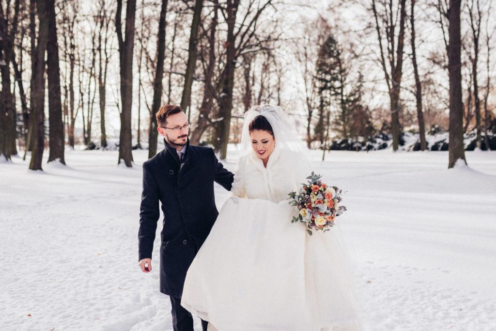 svadba v zime